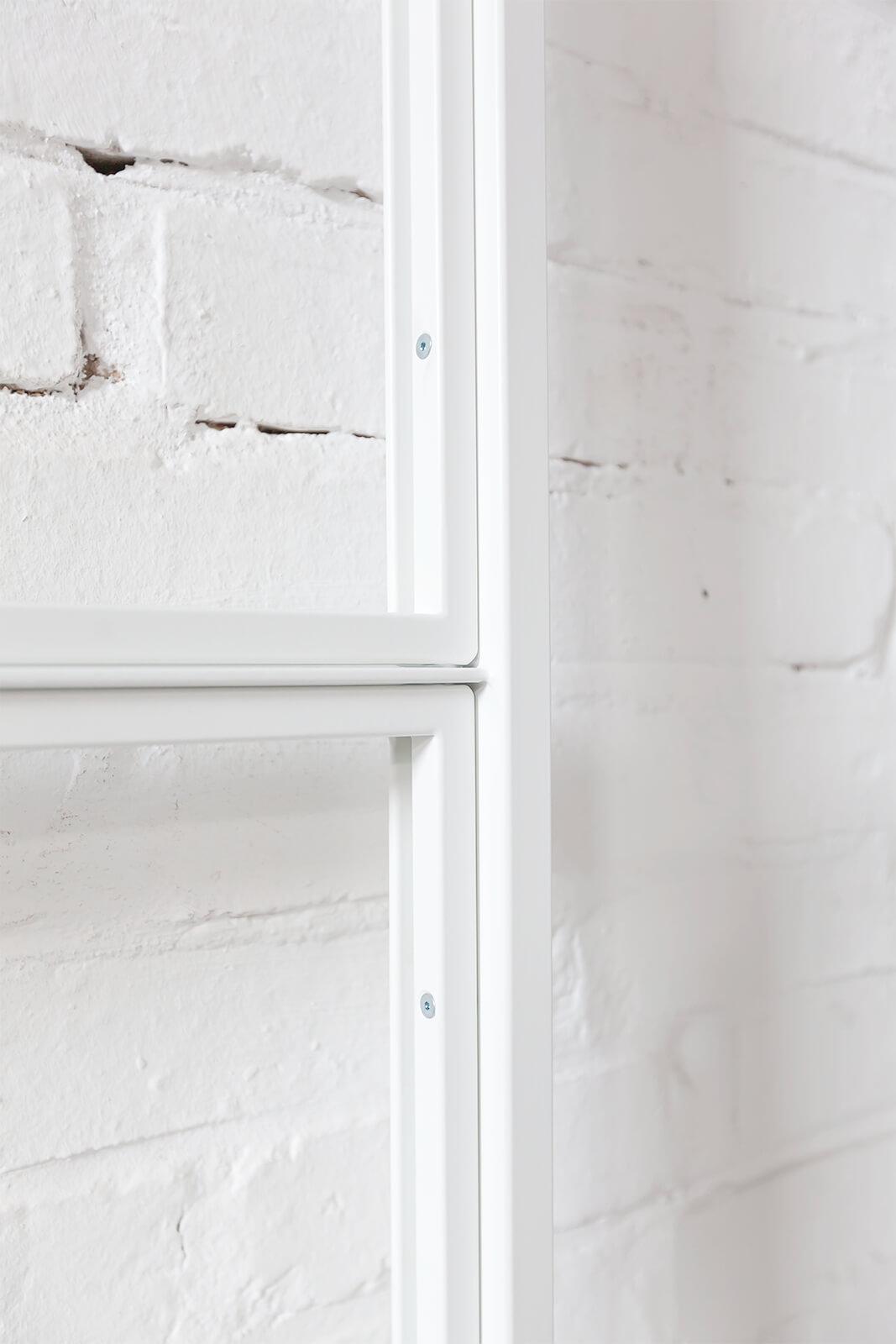 N51E12 Stahl Loft Tür Schwingtür, Pivottür, Pivot, Raumtrenner, Glastrennwand, Windfang, Bauhaus, Bauhaustür, Bauhausdesign, Glastür, Reinweiss, Weiss, RAL 9010