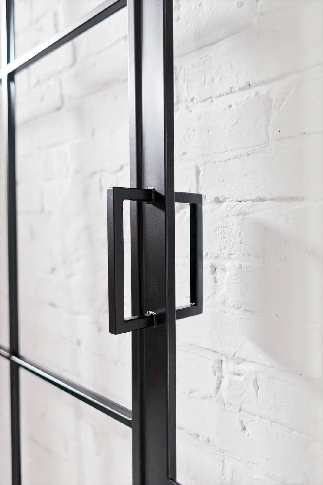 kurzer Griff, Loftstahl, Loft-Stahl.de - N51E12, Stahl Loft Tür, Türgriff, Griff, Griffstange Kurz, Türbeschlag