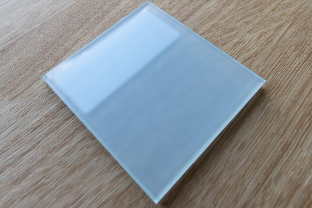 Loftsahl Loft-Stahl.de N51E12, Glas, Glasart, satiniert, satinertes Glas, 6 mm VSG Glas, Verbund-Sicherheitsglas