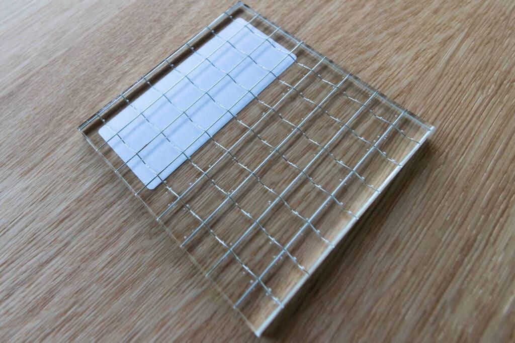 Loftsahl Loft-Stahl.de N51E12, Glas, Glasart, Drahtglas