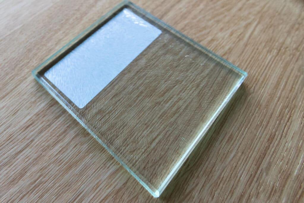 Loftsahl Loft-Stahl.de N51E12, Glas, Glasart, Ornamentglas, Strukturglas, Chinchilla VSG-Weißglas