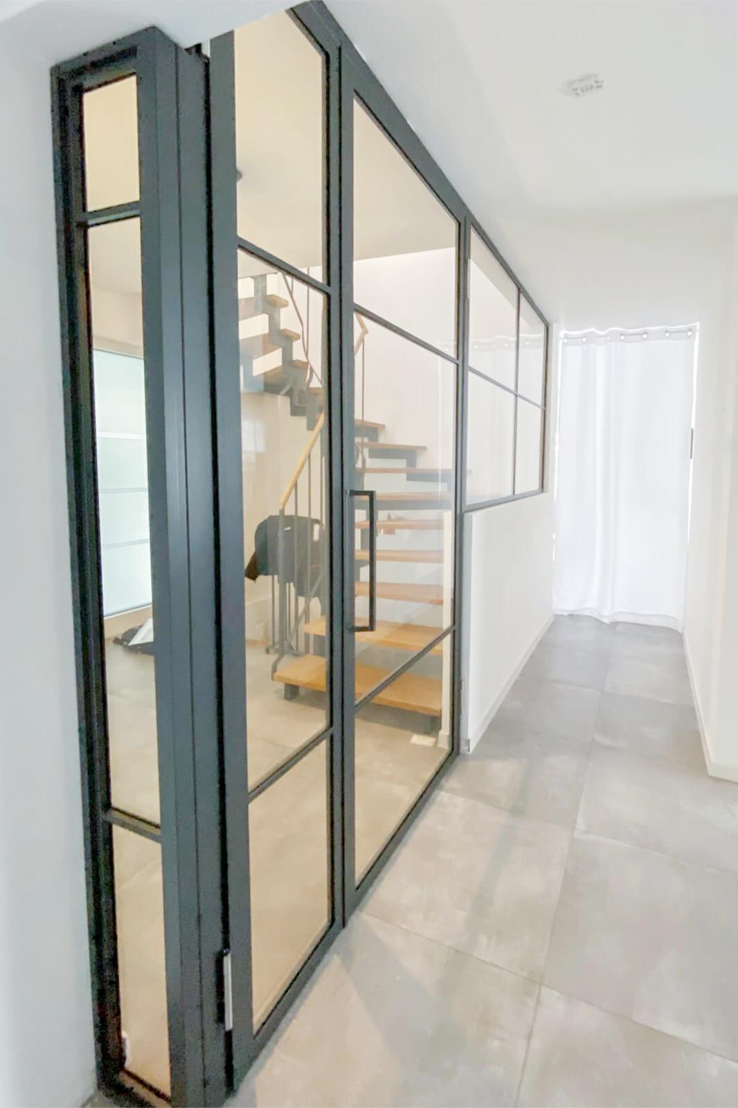 Loftstahl Loft-Stahl, N51E12, Stahl-Loft-Türen, Designtüren, Drehtür, Loftür, loftdoor