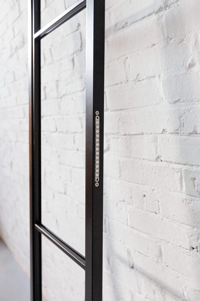 Loft Stahl, Loftstahl, N51E12, Stahl Loft Tür, Drehtür, Aufnahme, Designtür