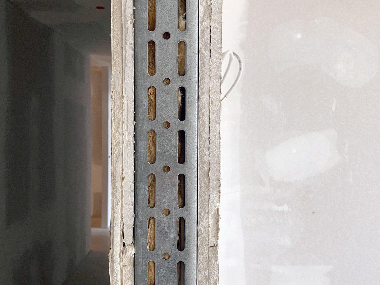 Loftstahl Stahl Loft Tür - Montage - Leibung - Tür , Gipskartonwand, Mauerwerk, Wand, Konstruktion