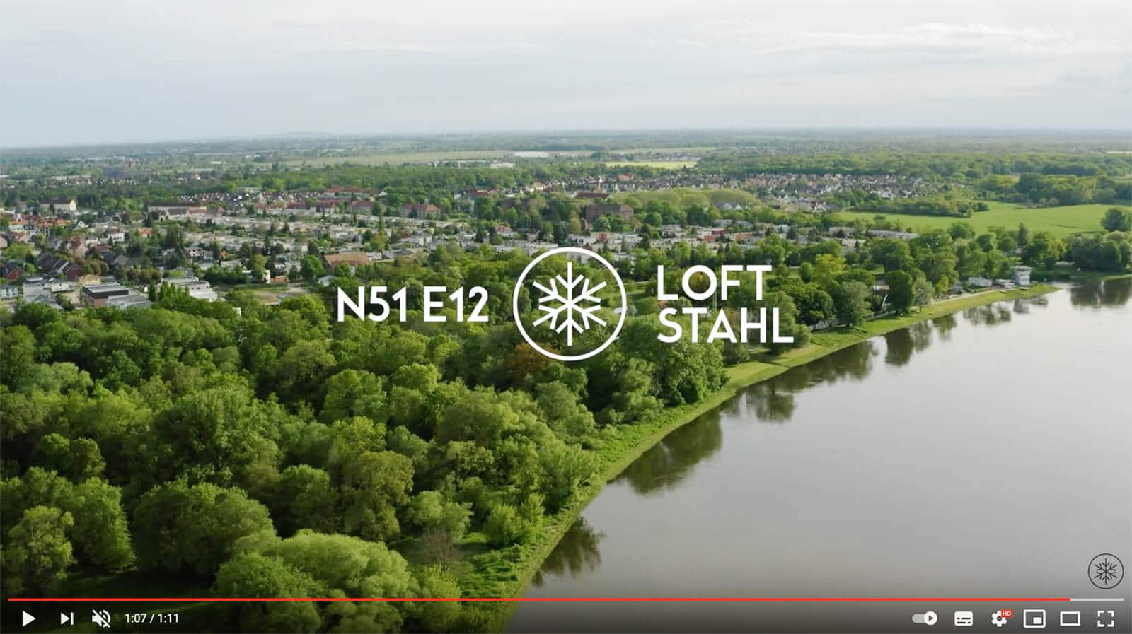 N51E12 Loftstahl Loft-Stahl.de Image Video made in Dessau, Stahlbau, Stahl Loft Tür, Lofttür, Designtür, Bauhaus Design, Bauhaustür