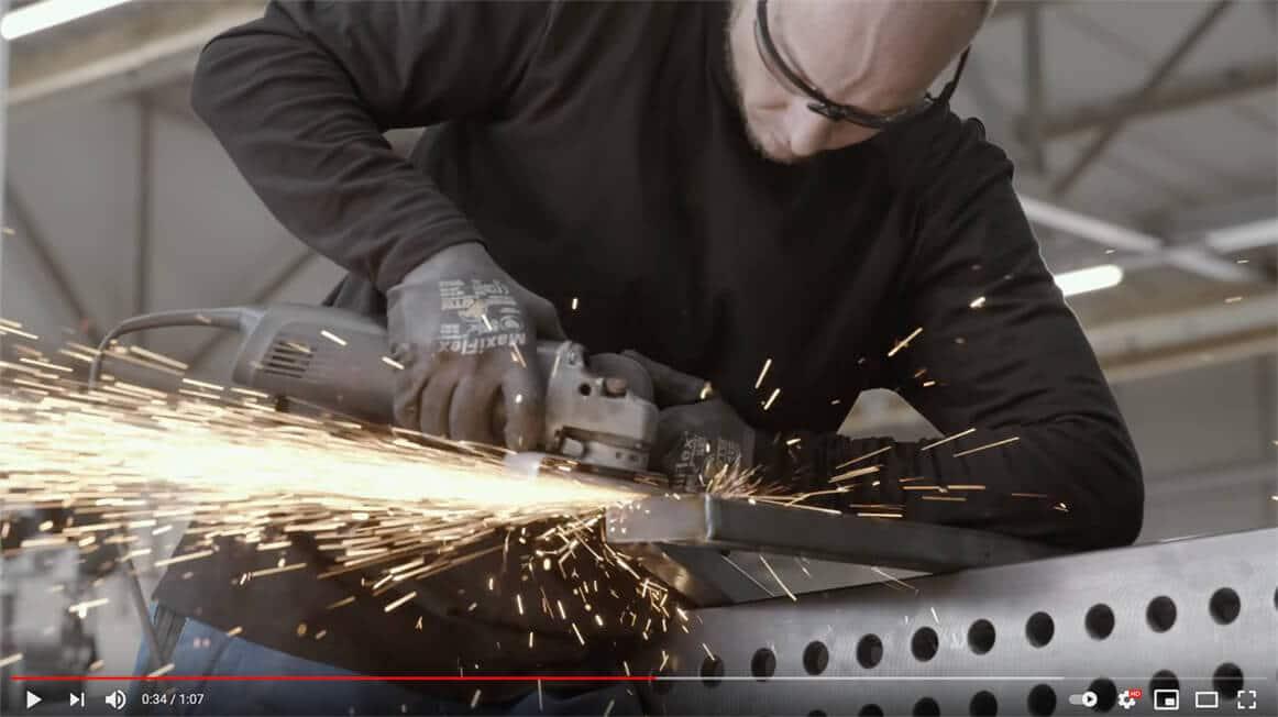 Loftstahl, Loft-Stahl.de Manufaktur Dessau, Stahlbau, Metallbau, Stahl Loft Türen, Video, Produktion, made in germany, nachhaltig, umweltbewusst